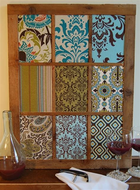 Recycled Handmade - handmade country 19x25 recycled wood frame wall