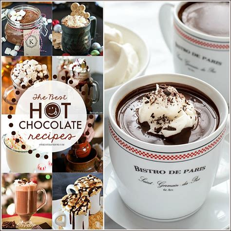 best hot chocolate recipe best hot chocolate recipes christmas recipes the 36th