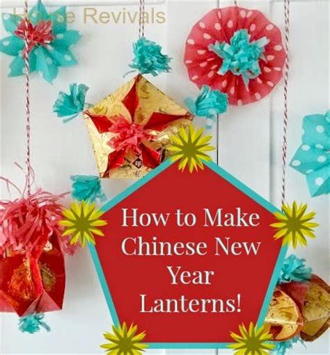 new year lanterns how to make make new year lanterns