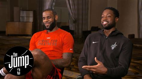 youtube rachel nichols the jump lebron james and dwyane wade exclusive interview with