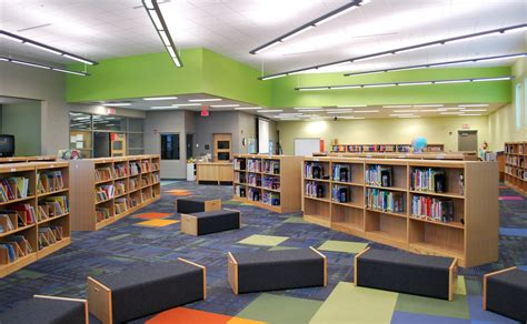 School Interior by Lincoln Elementary Performing Arts School Interiors Bravura