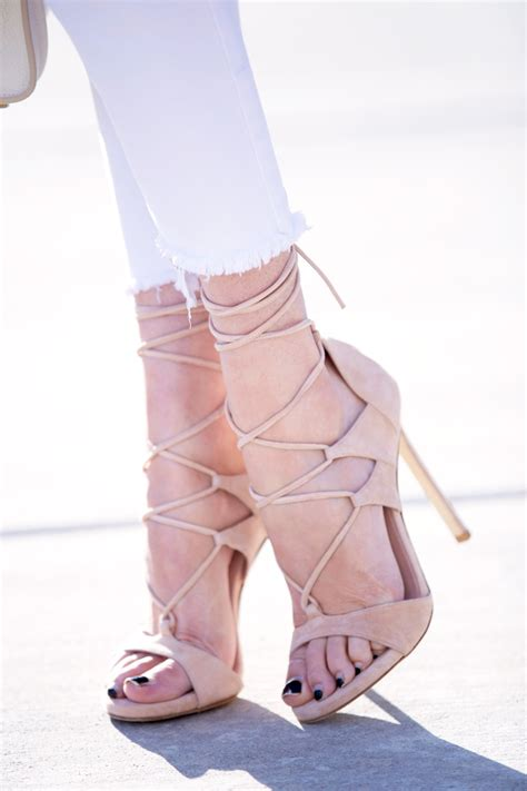 Repeat Trend Wedges by Pink Peonies Parcell Page 1585 Fashion
