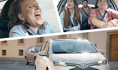 Toyota Hybrid Advert New Toyota Yaris Hybrid Advert Encourages You To Sing Up