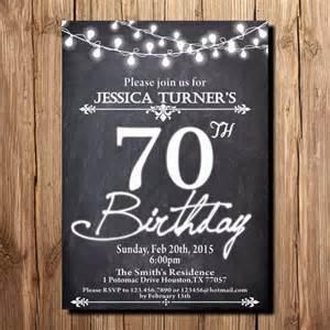 70th birthday invitation templates 15 70th birthday invitations design and theme ideas