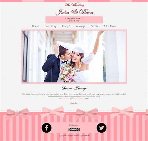 cara membuat undangan vintage undangan pernikahan online desain undangan online sweety