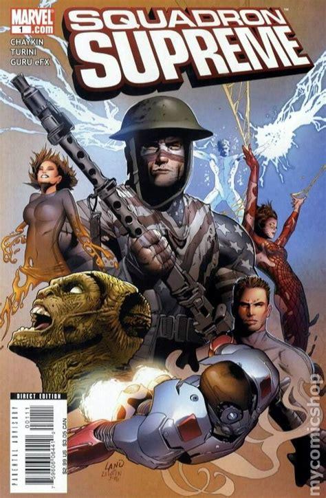 squadron supreme squadron supreme 2008 3rd series comic books