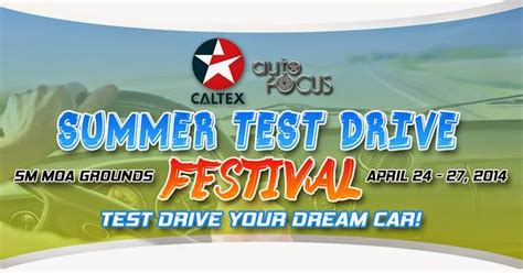 drive your dream car test drive your dream car at the 2014 auto focus test