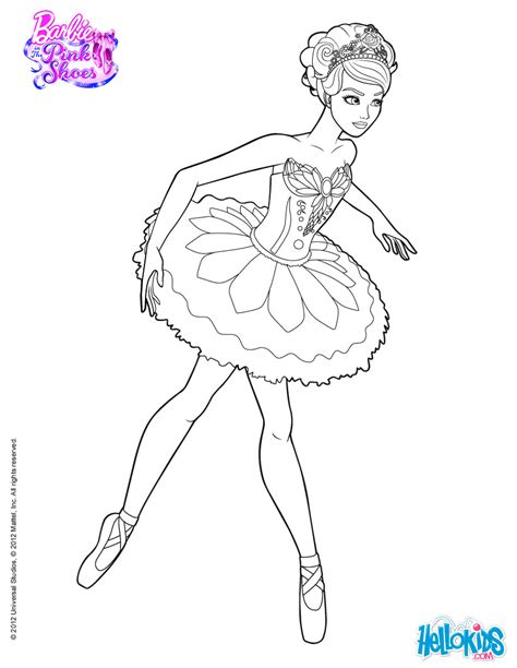 barbie movie coloring pages giselle main character of the ballet barbie printable