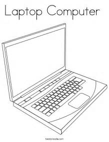 computer coloring pages laptop computer coloring page twisty noodle