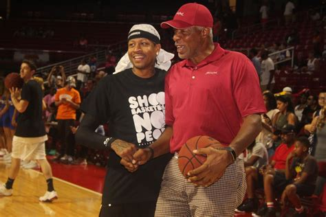 celebrity lifestyle games allen iverson celebrity basketball game lifestyle