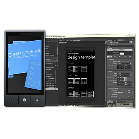 xaml template xaml based windows phone 7 design templates available