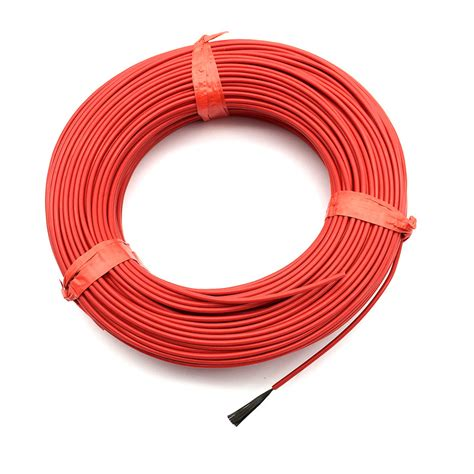 Floor Heating Wire by 20 M 12 K 33 Ohm Infrared Heating Floor Heating Cable System 2 0mm Ptfe Carbon Fiber Wire