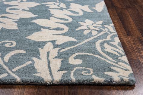 Damask Runner Rug Marianna Fields Ornate Damask Pattern Wool Runner Rug In Blue White 2 6 Quot X 8