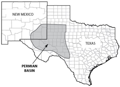 permian basin texas map an environmental disaster in the dcreport org