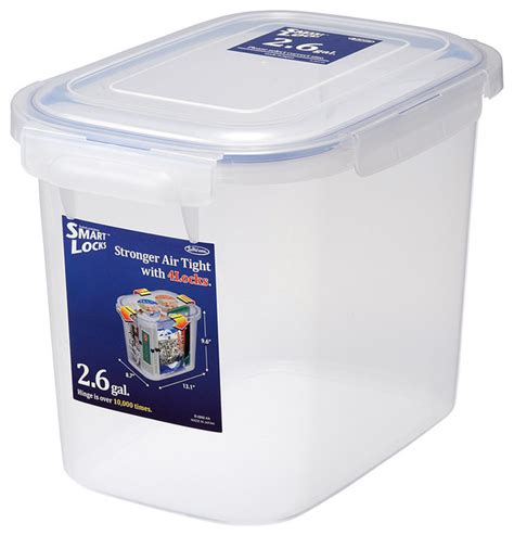container for food storage smart locks jumbo 3 gallon food container contemporary