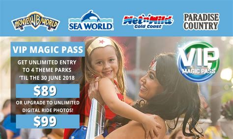 theme park vip pass village roadshow theme parks in oxenford qld groupon
