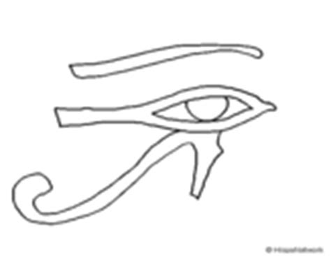 eye of horus coloring page egyptian sphinx coloring page coloringcrew com