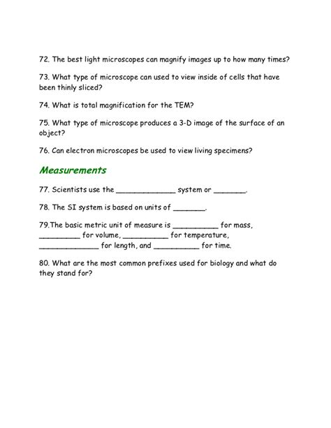Introduction To Animals Worksheet Answers by Introduction To Biology Worksheet Worksheets
