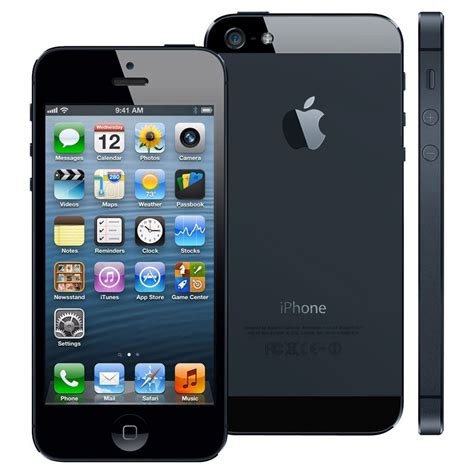 Iphone 5 Black 32gb apple iphone 5 32gb black 4g lte unlocked gsm smartphone fair condition used cell phones
