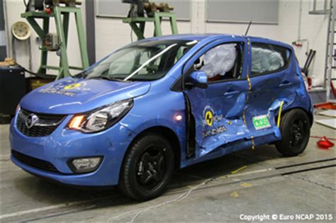 official opel karl 2015 safety rating