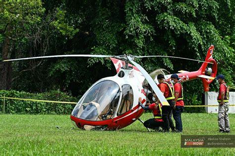 helicopter crash  taman melawati  mid air collision