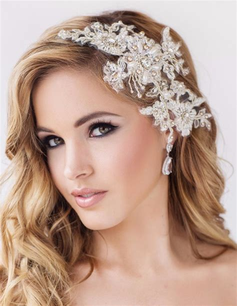 Wedding Headpiece by Lace Wedding Veils And Headpieces Www Pixshark