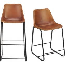 leather bar stools roadhouse leather bar stools cb2