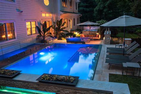 Modern Swimming Pool Design Nj Modern Pool New York Modern Swimming Pool Designs