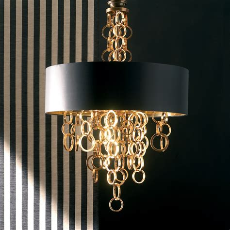 kronleuchter schwarz gold modern italian black and gold chandelier juliettes interiors