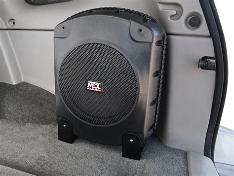 boat powered by car xtl110p powered car subwoofer enclosure mtx audio