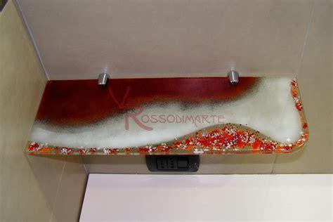 mensole bagno in vetro tasselli per reggimensola vetro a muro