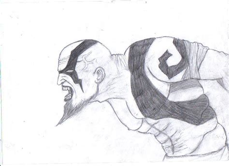 doodle drawings how to kratos drawing by beyourselfmert on deviantart
