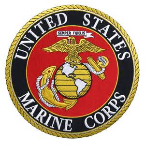 Marine Seat Upholstery United States Marine Corps Patch