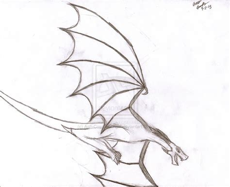 Drawing Dragons by The Gallery For Gt Easy Flying Drawings