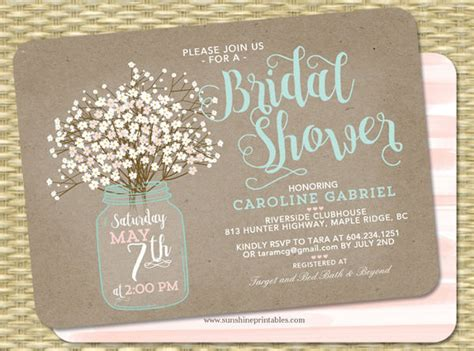 Printable Bridal Shower Invitations Free Premium Templates Couples Wedding Shower Invitations Templates Free