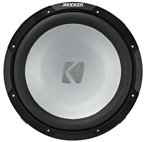 kicker boat kicker 45km124 marine audio boat 12 quot subwoofer single 4