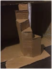 Diy Cardboard Furniture by 25 Best Ideas About Cardboard Dollhouse On