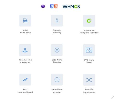 breed hosting whmcs html responsive domain web