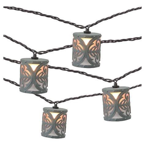 Decorative Lights Target by 10ct Decorative String Lights Metal Cover Target