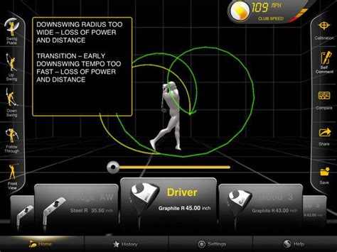golf swing analyzer software golfsense world s first 3d swing analyzer extravaganzi