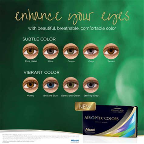 air optix colors contact lenses for subtle or vibrant eye