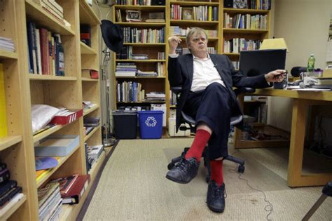 Slys Office by Humorist Author Garrison Keillor Bowing Out With Grace