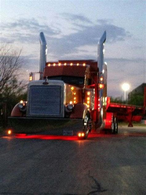 sharp 18 wheeler semi trucks pinterest flats beds