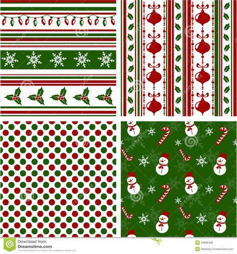 christmas pattern eps free christmas seamless patterns vector illustration stock