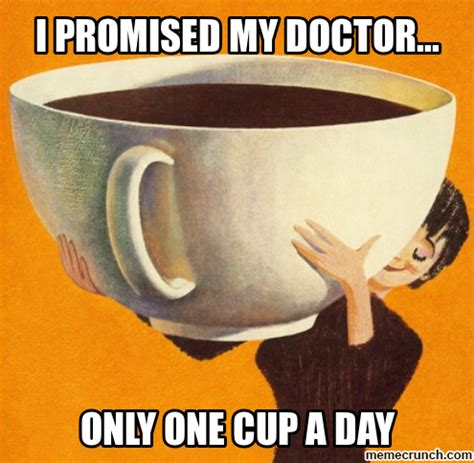 Coffee Cup Meme - 16 signs you re a coffee addict