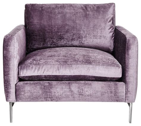 armchairs and accent chairs nolita chair purple contemporary armchairs accent