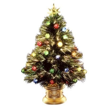 large firework effect christmas tree topper 32 quot pre lit fiber optic fireworks ornament tree multi lights find artificial flowers and