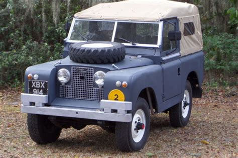 land rover convertible blue land rover defender convertible 1961 slate blue for sale
