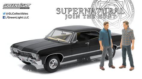 supernatural 1967 chevrolet impala supernatural diecast model 1 18 1967 chevrolet impala with
