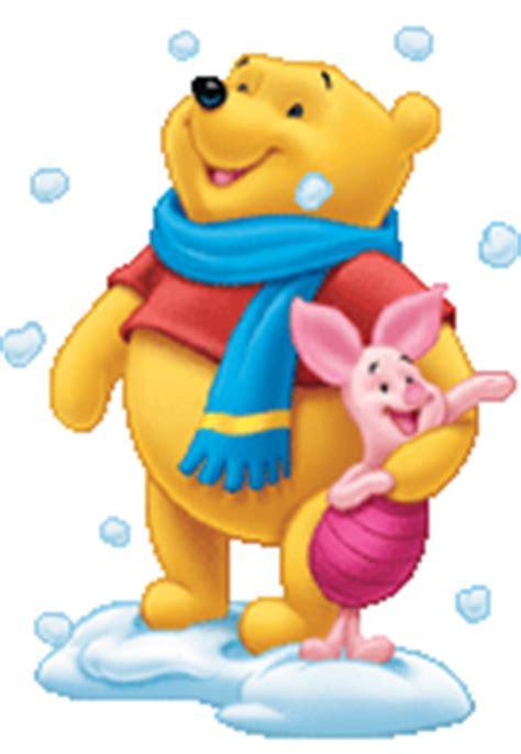imagenes de winnie pooh y puerquito animaci 243 n de winnie pooh y puerquito viendo caer la nieve